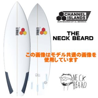 NECK BEARD 5'9 新品 ブラック FCS II