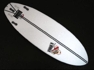 Ultra Joe 5'5 SPINE-TEK カリフォルニア FCS II
