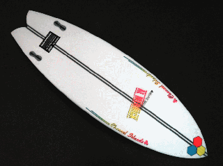 FishBeard 5'6 SPINE-TEK レッド/イエロー/ブルー  FCS II<img class='new_mark_img2' src='https://img.shop-pro.jp/img/new/icons15.gif' style='border:none;display:inline;margin:0px;padding:0px;width:auto;' />