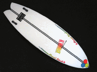 FishBeard 5'7 SPINE-TEK レッド/イエロー/ブルー  FCS II<img class='new_mark_img2' src='https://img.shop-pro.jp/img/new/icons15.gif' style='border:none;display:inline;margin:0px;padding:0px;width:auto;' />