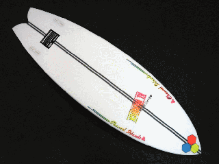 FishBeard 5'10 SPINE-TEK レッド/イエロー/ブルー FCS II<img class='new_mark_img2' src='https://img.shop-pro.jp/img/new/icons15.gif' style='border:none;display:inline;margin:0px;padding:0px;width:auto;' />