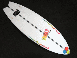 FishBeard 5'5 SPINE-TEK レッド/イエロー/ブルー FCS II<img class='new_mark_img2' src='https://img.shop-pro.jp/img/new/icons15.gif' style='border:none;display:inline;margin:0px;padding:0px;width:auto;' />