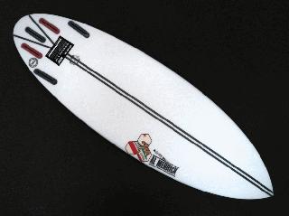 NECK BEARD3 5'8 SPINE-TEK カリフォルニア