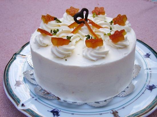 オレンジピールケーキ