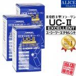 【送料無料】 UC-IIエクセレント (60粒) 3箱セット ( 非変性2型コラーゲン UC-2 UC2 UCII II型 2型 非変性活性 )