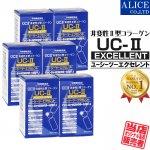 【送料無料】 UC-IIエクセレント (60粒) 6箱セット ( 非変性2型コラーゲン UC-2 UC2 UCII II型 2型 非変性活性 )