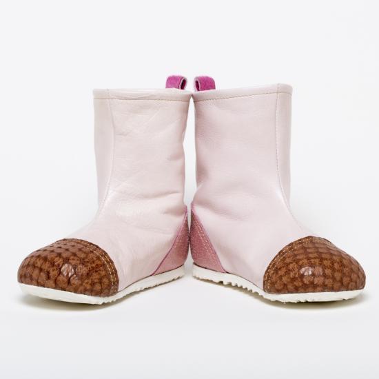 はけるよ!ブーツ(ライトピンク・茶・ピンク)