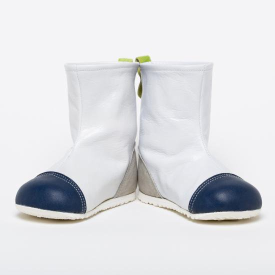 はけるよ!ブーツ(白・紺・グレー)