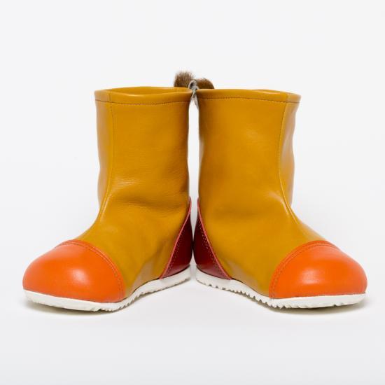 ブーツ(マリーゴールドxオレンジxレッド)