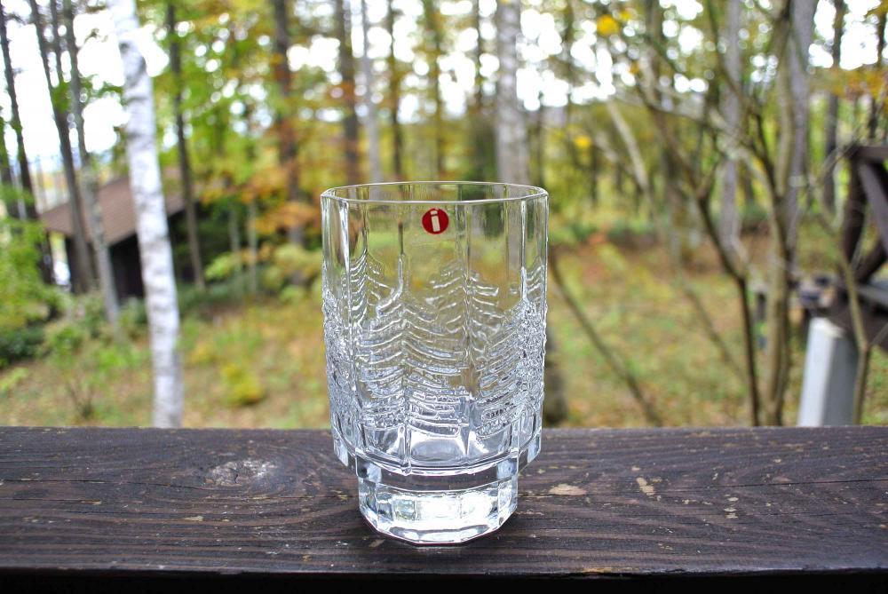 """iittala """"KUUSI"""" Tumbler イッタラ もみの木 ガラスのタンブラー 200ml 01"""
