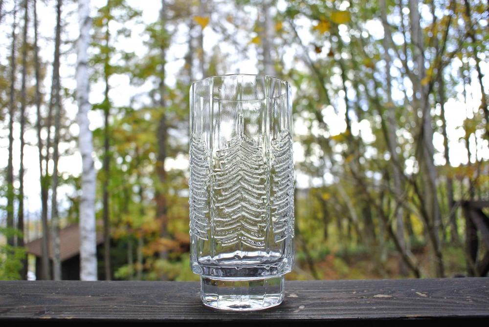 """iittala """"KUUSI"""" Tumbler イッタラ もみの木 ガラスのタンブラー 400ml 02"""