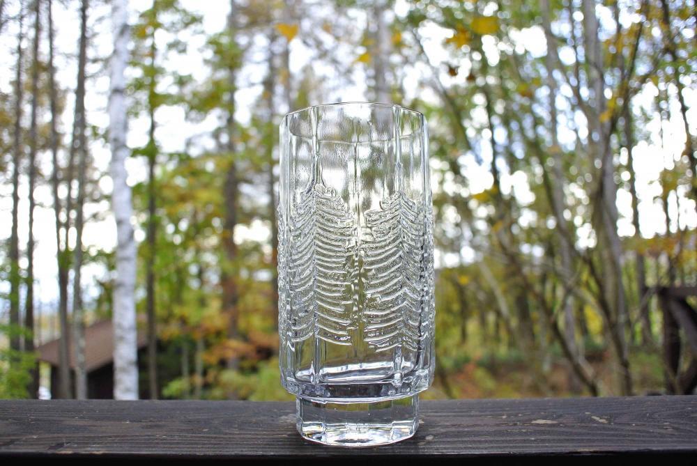 """iittala """"KUUSI"""" Tumbler イッタラ もみの木 ガラスのタンブラー 400ml 04"""