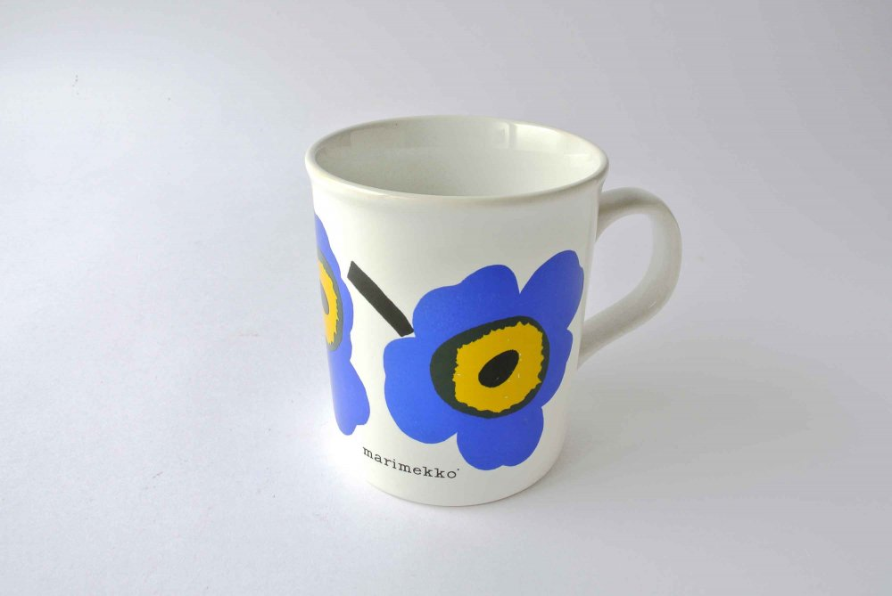 marimekko old mug (Made in England) マリメッコ オールドマグ 019 (unikko) 再入荷
