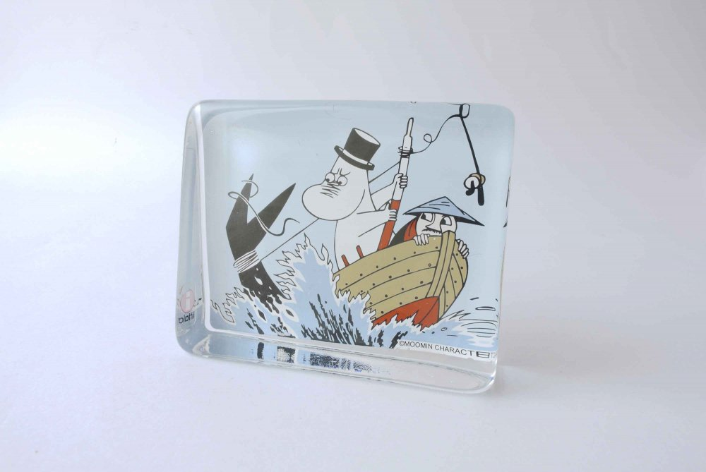 "iittala ""muumi"" Glass Card ..."