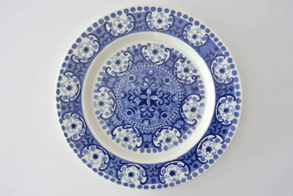 arabia ali 17 plate bule アラビア アリ プレート raija