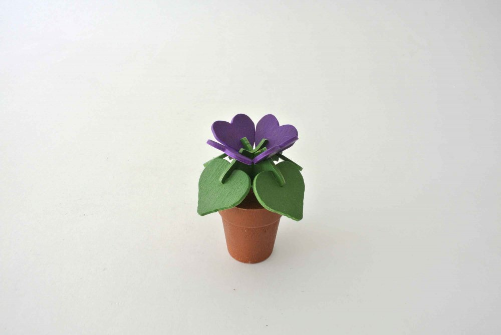 Johan Wooden Flower Object (Heart) ヨ...