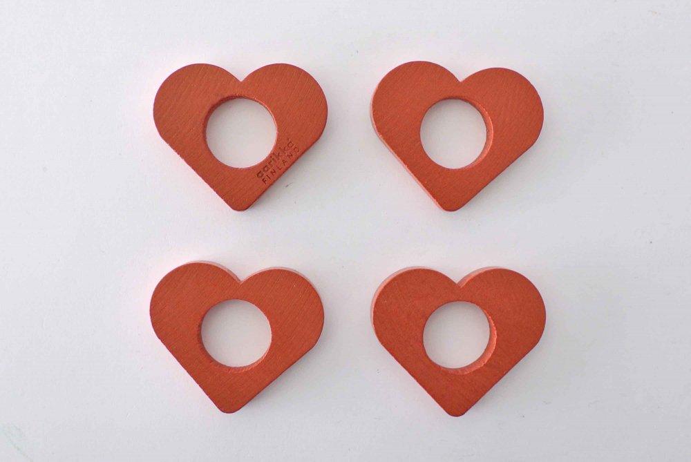 "aarikka Napkin ring ""RED HEART&q..."