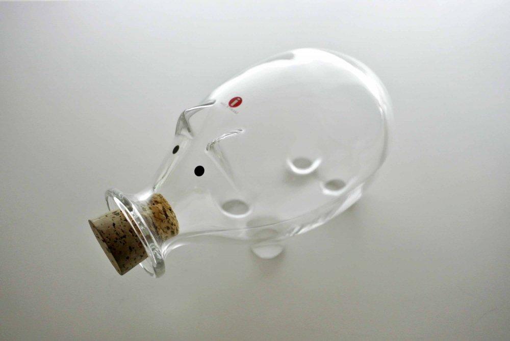 """iittala Pig Jar """"Clear"""" イ..."""