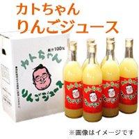 (送料無料)カトちゃんりんごジュース