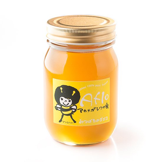 アフロ:アカメガシワの蜜 500g