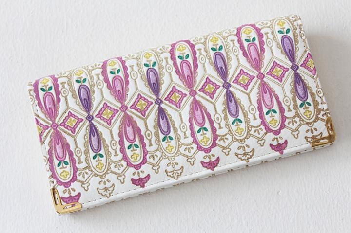 ギャルソン財布 長財布 <イギリス・ピンク>