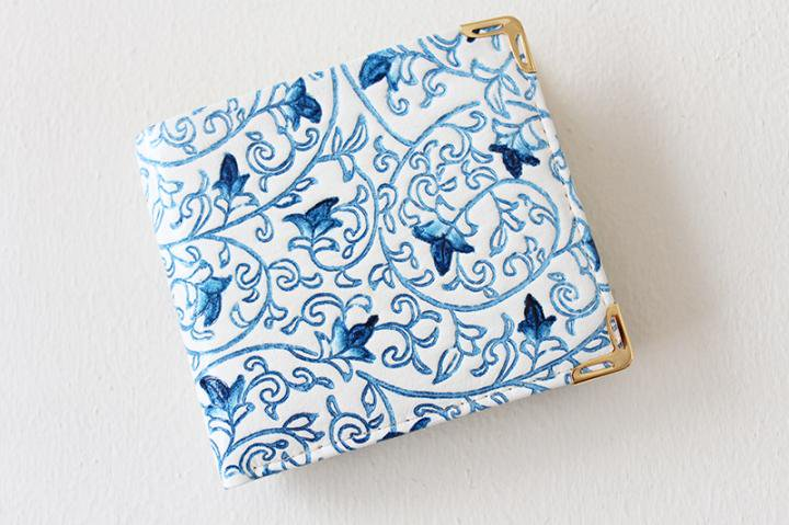 【姫革】二つ折り財布