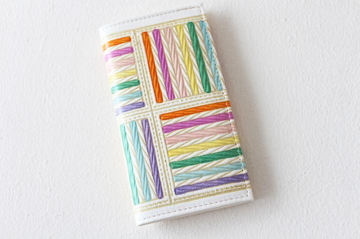 カードケース <七色帯紐>