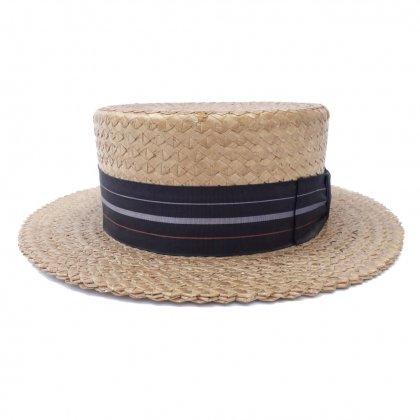 古着 通販 ビンテージ【SCLAR STRAWS】カンカン帽【JC PENNEY.CO】BOATER HAT