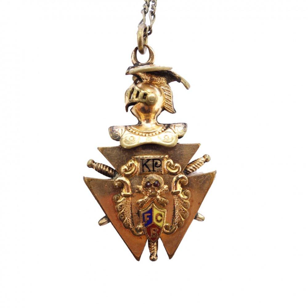 古着 通販 ビンテージ ネックレス【Knights of Pythias】【1900's】Vintage Necklace