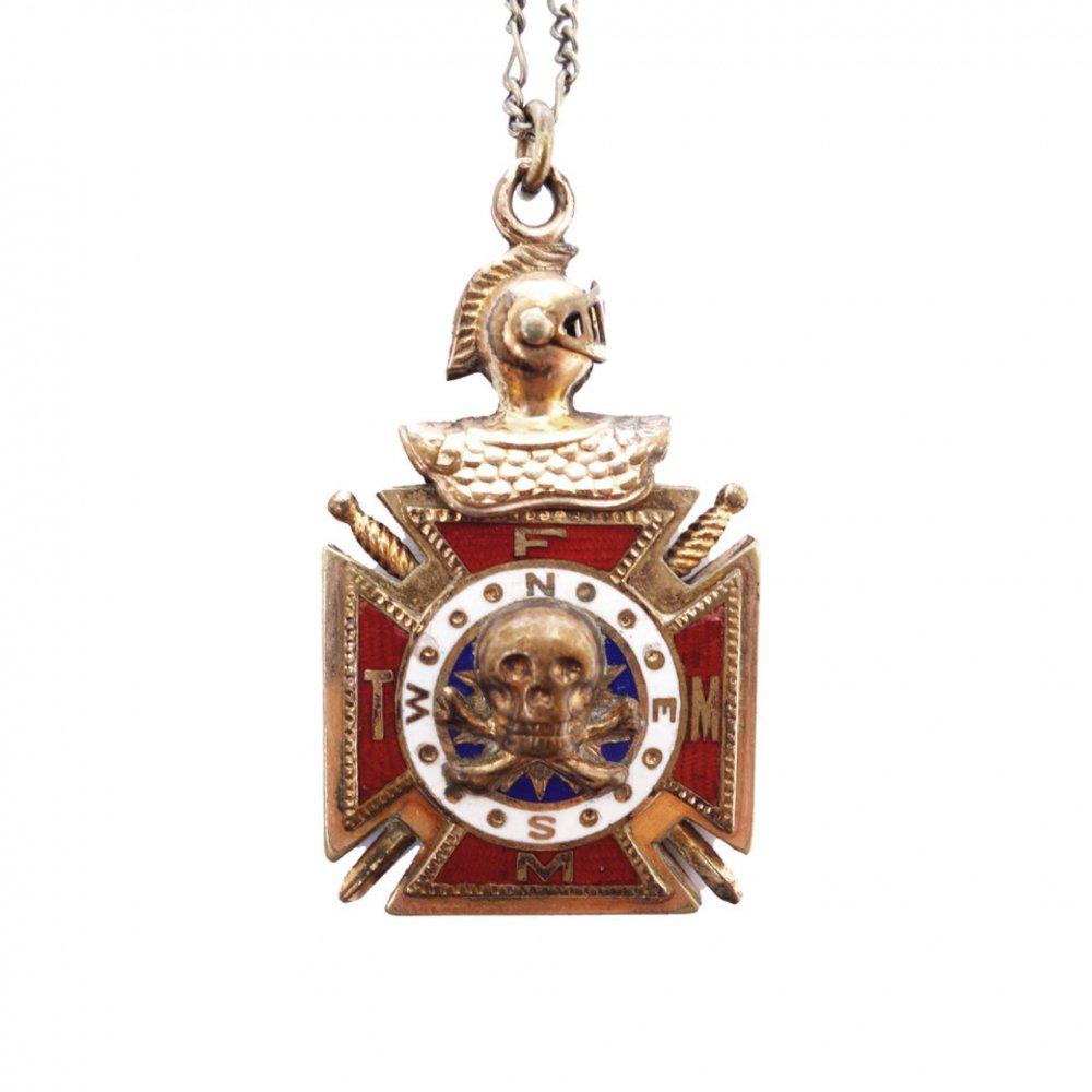 古着 通販 ビンテージ ネックレス【Knights of Columbus】【1900's】Vintage Necklace
