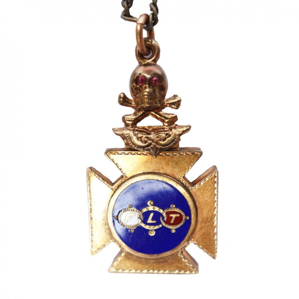 古着 通販 ビンテージ ネックレス【Odd Fellows】【1900's】Vintage Necklace