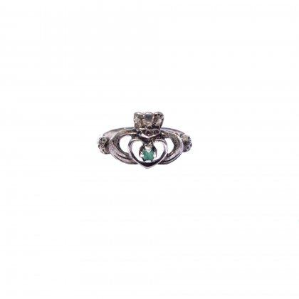 古着 通販 ヴィンテージ クラダーリング【925】【size 10】Vintage Claddagh Ring