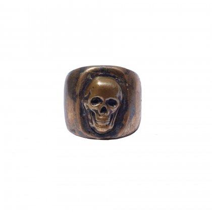 古着 通販 ヴィンテージ メキシカンスカルリング【1950's】【SKULL】【size 17】Vintage Mexican Ring