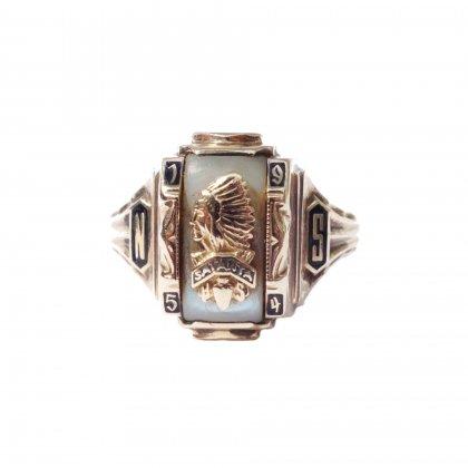 古着 通販 カレッジリング【1954】【JOSTEN 10K】Vintage College Ring