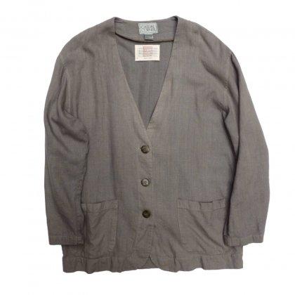 古着 通販 ビンテージ ノーカラージャケット【pimpstick 西染】Vintage No-Collar Jacket