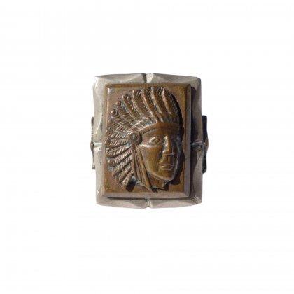 古着 通販 ヴィンテージ メキシカンリング【1940's】【Indian Head】Vintage Mexican Ring