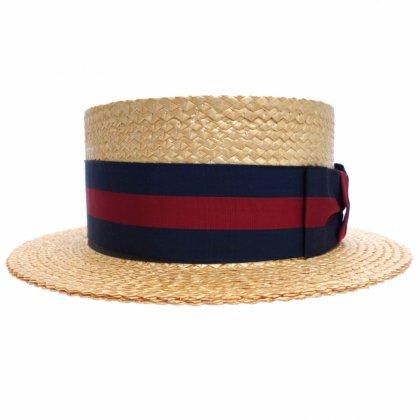 古着 通販 ビンテージ【BROOKS BROTHERS】カンカン帽【LOCK&CO HATTERS】BOATER HAT