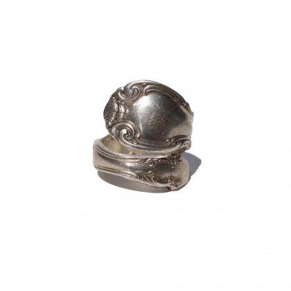 古着 通販 ヴィンテージ スプーンリング 【ALVIN】【STERLING】【1920's】【size 11】Vintage Spoon Ring