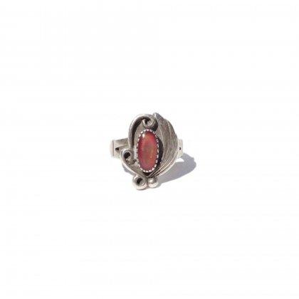古着 通販 ナバホ ヴィンテージ ストーンリング 【STERLING】【size 5】Vintage Navajo Ring