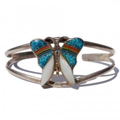 古着 通販 ヴィンテージ シルバーバングル【1970's】【STERLING】【Butterfly】Vintage Bangle