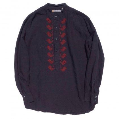 古着 通販 ヴィンテージ スタンドカラープルオーバーシャツ VINTAGE STAND COLLAR SHIRT