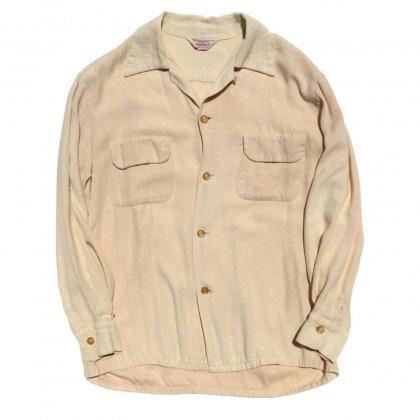 古着 通販 タウンクラフト ヴィンテージ カスリ柄 レーヨンシャツ【TOWNCRAFT】【1950's】Vintage Rayon Shirts