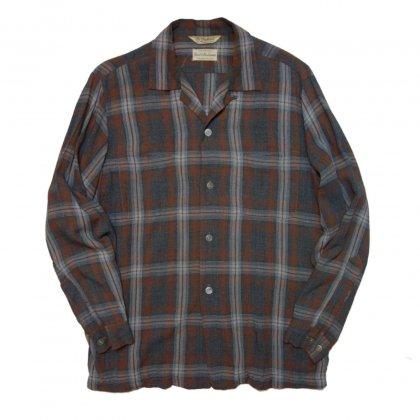 古着 通販 ビンテージ シャドウチェック レーヨンシャツ【1960's】Vintage Rayon Shirts