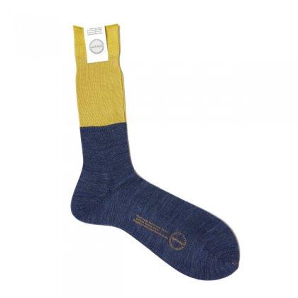 古着 通販 アンティパスト メンズ ソックス【ANTIPAST】Two tone rib socks