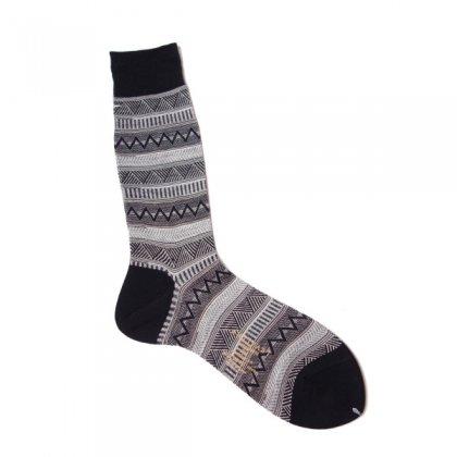 古着 通販 アンティパスト メンズ ソックス【ANTIPAST】Ethnic stripes socks