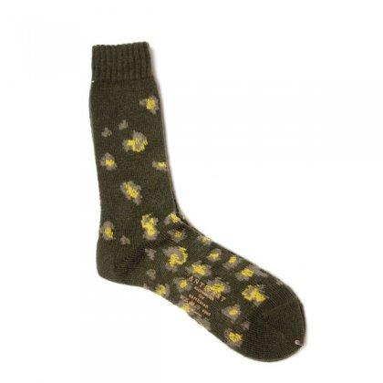 古着 通販 アンティパスト メンズ ソックス【ANTIPAST】Leopard socks
