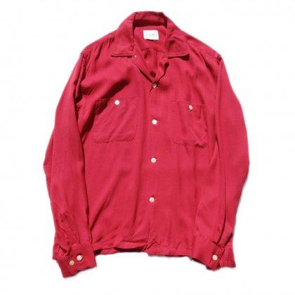 古着 通販 ヴィンテージ 開襟 レーヨンシャツ【1960's】Vintage Shirts