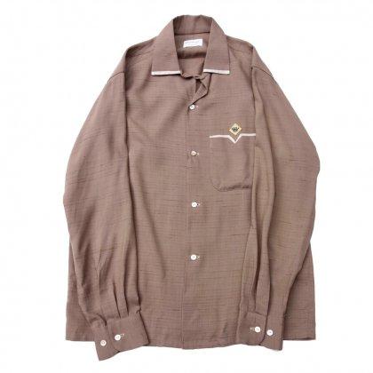 古着 通販 ヴィンテージ 開襟 レーヨンシャツ【Pennleigh】【1960's】Vintage Shirts