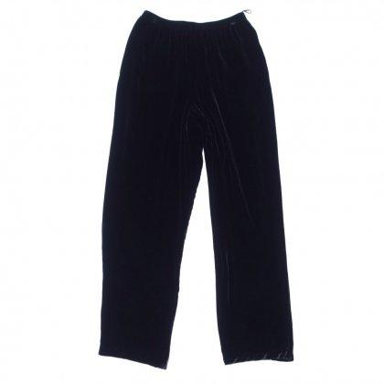 古着 通販 ヴィンテージ  イージー パンツ【1980's~Velvet black】Vintage Tapered Trousers
