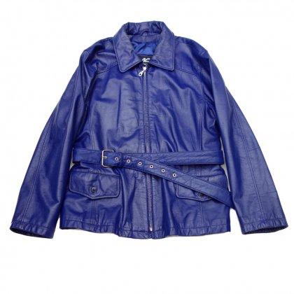 古着 通販 ヴィンテージ  レザー ジャケット【Neon color】【1980s】Vintage Leather Jacket